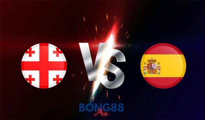 Soi kèo Georgia vs Tây Ban Nha