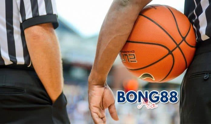 ký hiệu tay của trọng tài bóng rổ