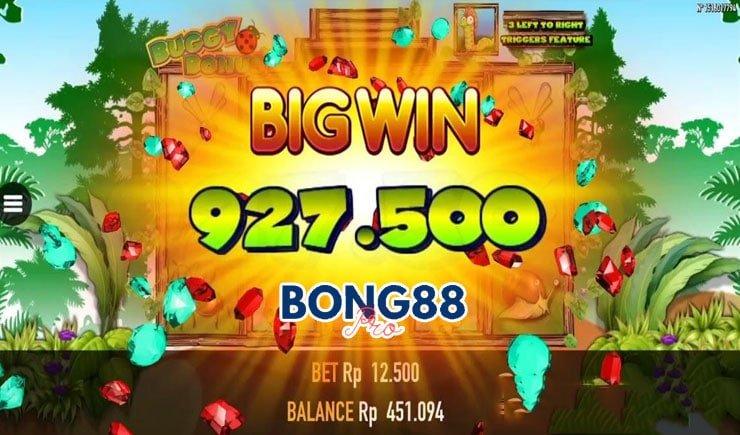 Trúng Jackpot trong Buggy Bonus Slot